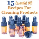 15 essential oil recpies for cleaning products