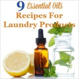 9 essential oils recipes for laundry products