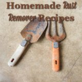 homemade rust remover recipe