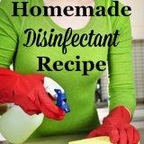 homemade disinfectant recipe