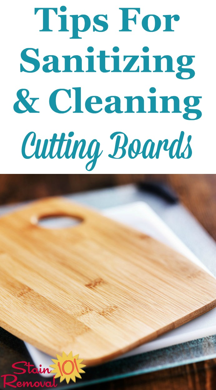 Tips For Sanitizing Amp Cleaning A Cutting Board