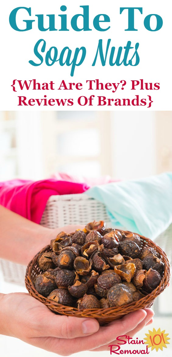 Here is a guide to using soap nuts, the natural way to wash your clothes, plus reviews of various brands. In addition, get recipes for how you can use it to clean things in your home {on Stain Removal 101}