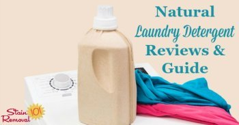 natural laundry detergent reviews and guide