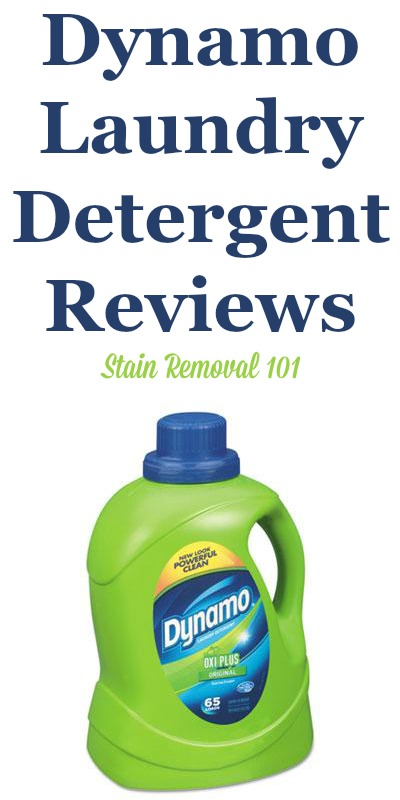 Here is a comprehensive guide about Dynamo laundry detergent, including reviews and ratings of this brand of laundry supply, including many different scents and varieties {on Stain Removal 101}