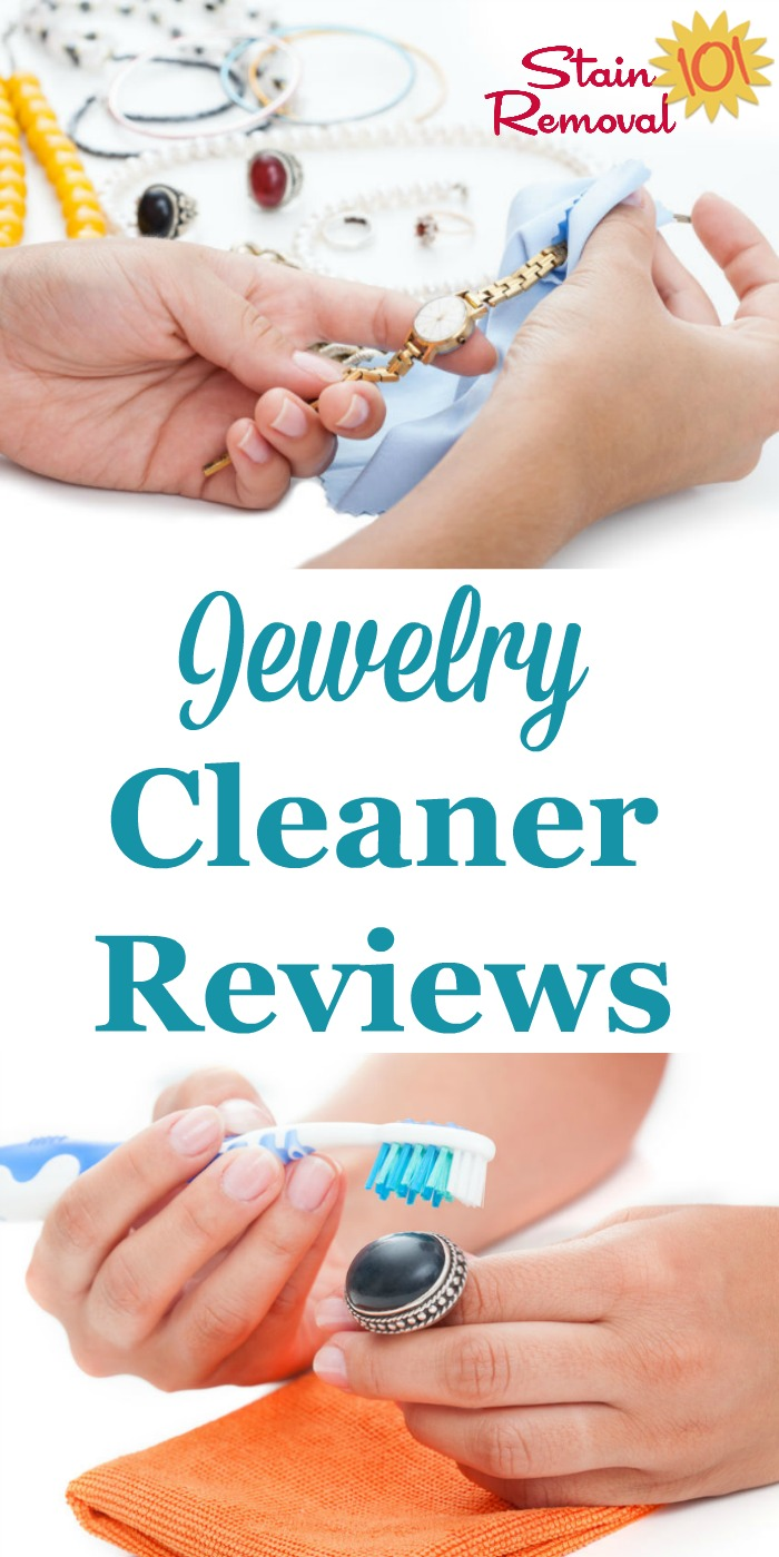 Here is a round up of jewelry cleaner reviews, including reviews of metal cleaners and polishes, as well for precious stones, to find out which products work best and which should stay on the store shelf {on Stain Removal 101}