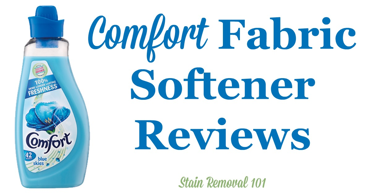 Here is a comprehensive guide about Comfort fabric softener, including reviews and ratings of this brand of laundry supply, including many different scents and varieties {on Stain Removal 101}
