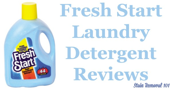 Here is a comprehensive guide about Fresh Start laundry detergent, including reviews and ratings of this brand of laundry supply. In addition, readers share where they can find this detergent to buy it! {on Stain Removal 101}