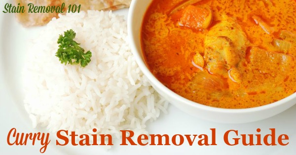 Remove Curry Stain >> How To Remove Curry Stains