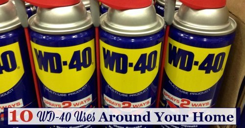 Here are 10+ WD-40 uses throughout your home, as a household remedy for cleaning, stain removal and more {on Stain Removal 101}