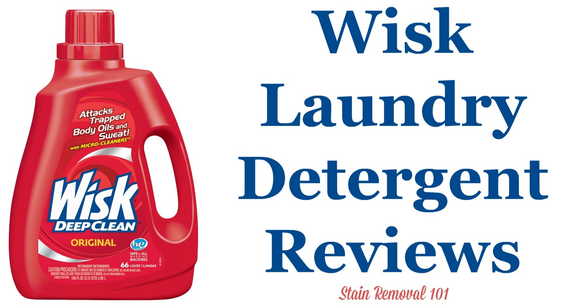 Here is a comprehensive guide about Wisk laundry detergent, including reviews and ratings of this brand of laundry supply, including different scents and varieties {on Stain Removal 101}