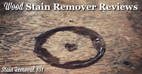Here is a round up of wood stain removers reviews to find out what works best, and what doesn't, to remove stains and marks on wood floors and furniture {on Stain Removal 101}
