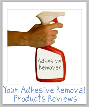 adhesive removal