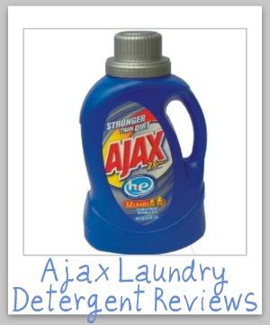 ajax laundry detergent
