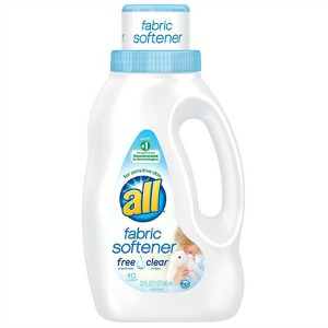 All fabric softener, free and clear
