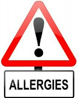 allergies warning