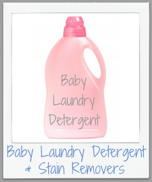 Baby Laundry Detergent Fabric Softeners & Stain Remover