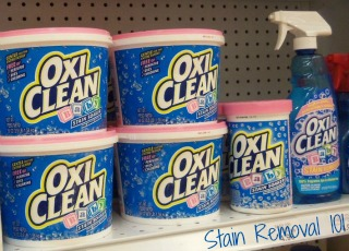 baby Oxiclean products