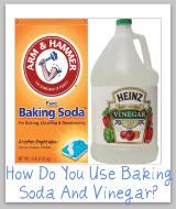 baking soda vinegar