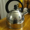 metal tea kettle