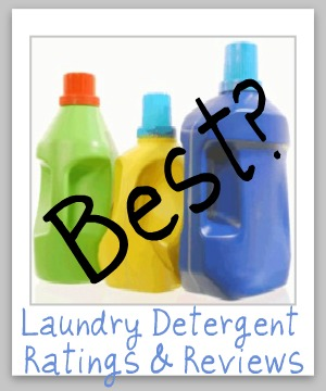 Wow! Jackpot of laundry detergent reviews, with over 85 pages of information {products from A-M} on just about any variety you can think of. Pin for later if you need to find a new detergent!