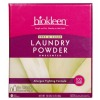 powder biokleen laundry detergent, free and clear