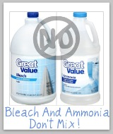 bleach and ammonia don't mix