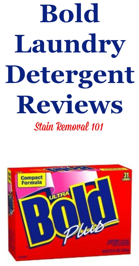 Here is a comprehensive guide all about Bold laundry detergent, including reviews and ratings of this laundry supply in a variety of scents, formulas, and varieties, found in both the United States as well as other countries versions {on Stain Removal 101}