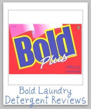 bold laundry detergent