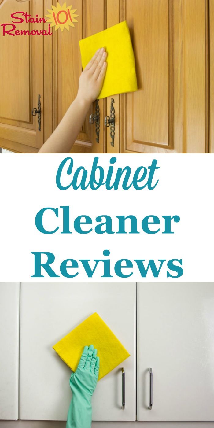 Incroyable Here Are Quite A Few Cabinet Cleaners Reviews From Readers Whou0027ve Tried  Both Specialty ...