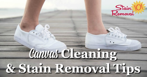 Here Are Canvas Cleaning Tips And Stain Removal Ideas To Clean Items Made With Around