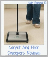 carpet and floor sweepers reviews