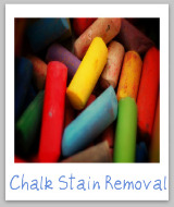 chalk stain removal