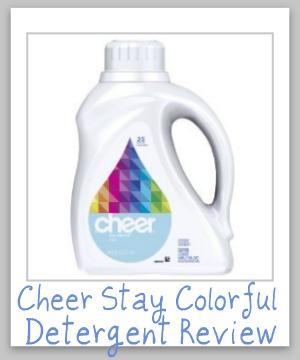cheer detergent review