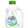 cheer free and gentle liquid laundry detergent