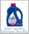 cheer laundry detergent review