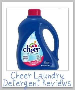 cheer laundry detergent