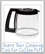 clean coffee pot