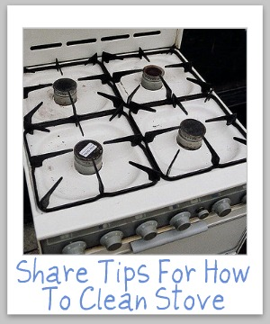 How To Clean Stove Top Tips Amp Hints You Can Use