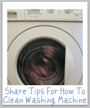 How To Clean Washing Machine Grime And Odors