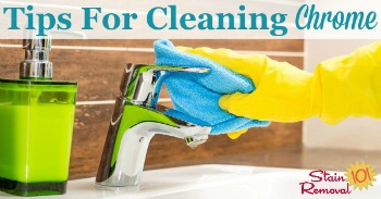 Tips for cleaning chrome