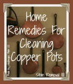 home remedies for cleaning copper pots