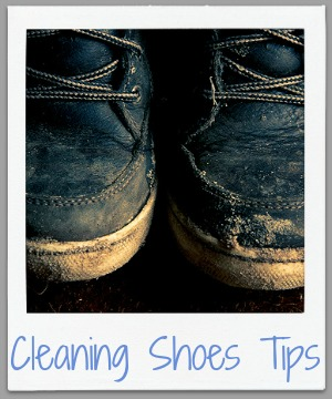 cleaning shoes tips