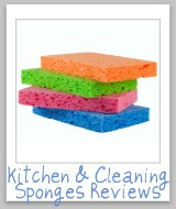 kitchen and cleaning sponges reviews