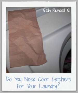 do you need color catchers for your laundry?