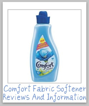 comfort fabric softener