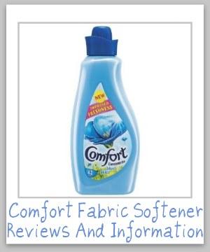 comfort fabric softener
