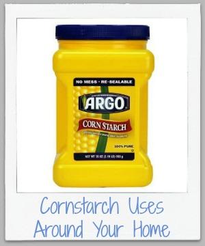 cornstarch uses around your home