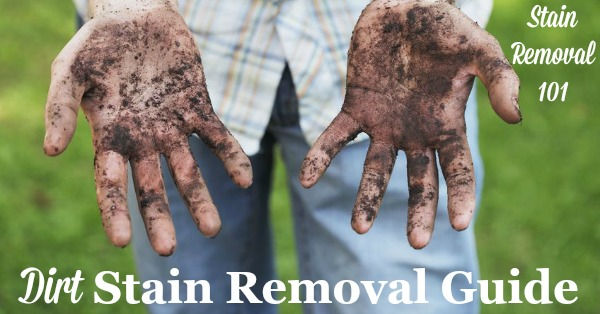 Dirt Stain Removal Guide
