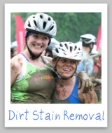 stain removal dirt