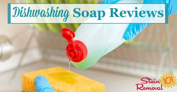 Here are over 40 dishwashing soap and detergent reviews to find out which products work best for washing dishes, pots and pans, and more, and which should stay on the store shelf {on Stain Removal 101}